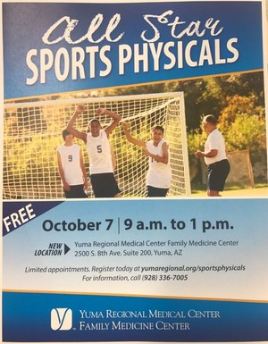 YRMC Free Sports Physicals.JPG