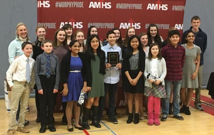 ST. LOUISE WINS 1ST PLACE AT ARCHBISHOP MURPHY SPEECH TOURNAMENT Featured Photo