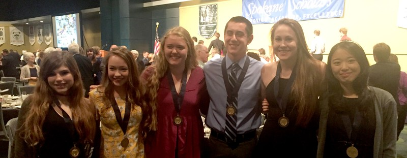 Spokane Scholar award recipients