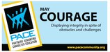 PACE - May Character Trait - Courage