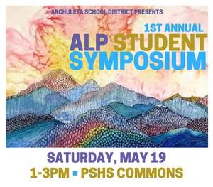 ALP Student Symposium poster graphic