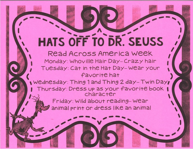 Hats Off To Dr. Seuss - Read Across America Week