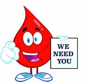 blood drive cartoon blood drop