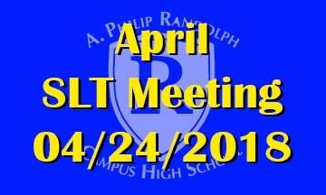 April SLT