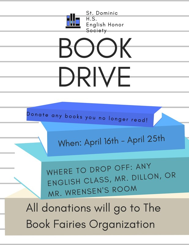 English Honor Society Book Drive Featured Photo