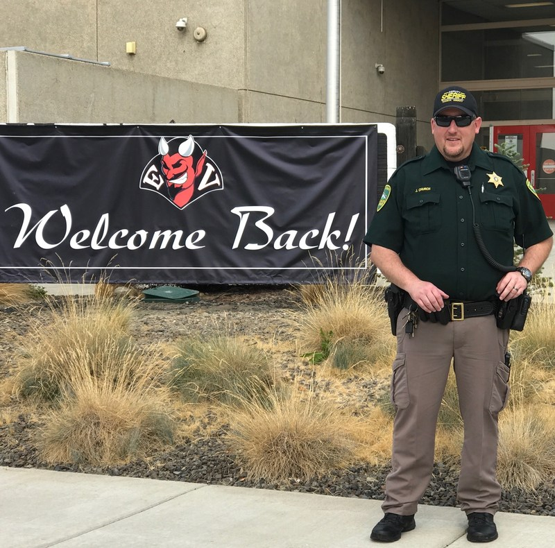 East Valley School District Welcomes Deputy Jake Church Featured Photo