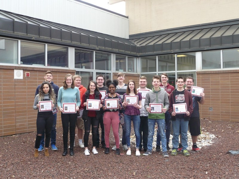 CHS MARCH STUDENTS OF THE MONTH Thumbnail Image