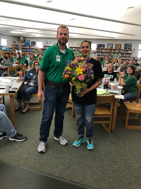 JoAnn Chapa Named Support Staff of the Year at BHS! Thumbnail Image