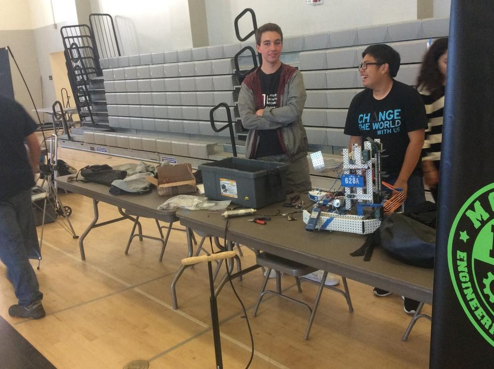 Monroe Engineering at STEAM Expo - Valley Academy of Arts and Sciences