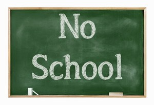 no school stock photo