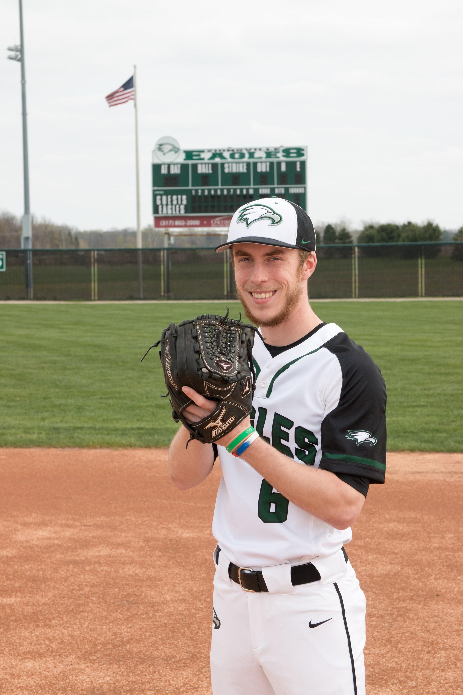 Senior Eli Copner photo