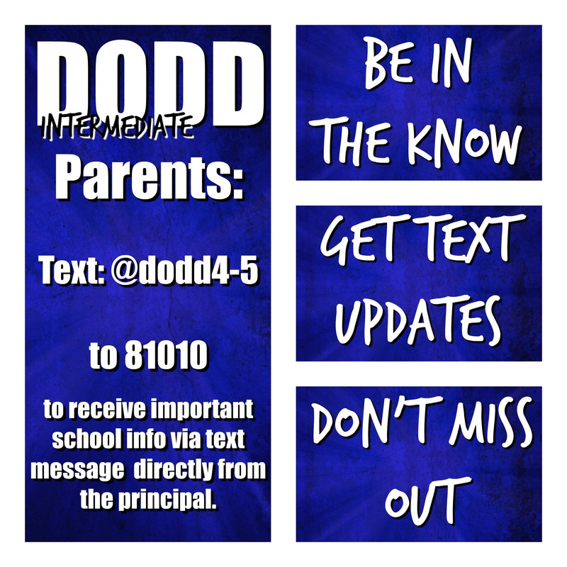 Dodd Text Alerts and Information Thumbnail Image