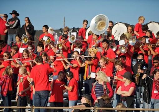 PVHS Band at football game