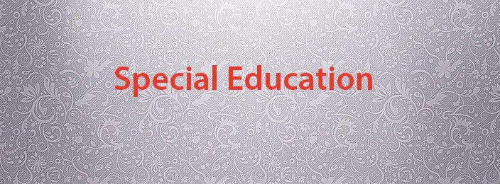 Special ed banner
