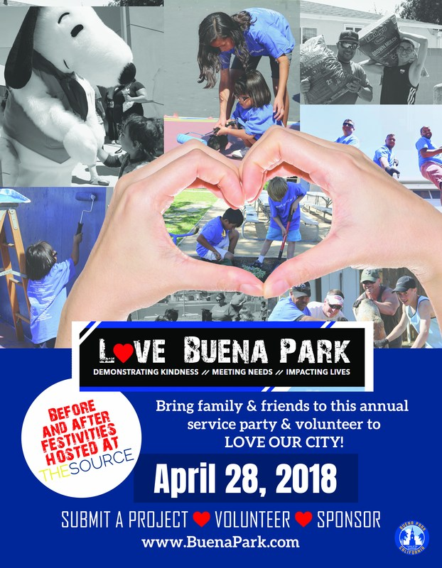 Love Buena Park Flyer