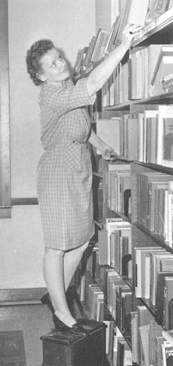 Catherine Jones, Librarian