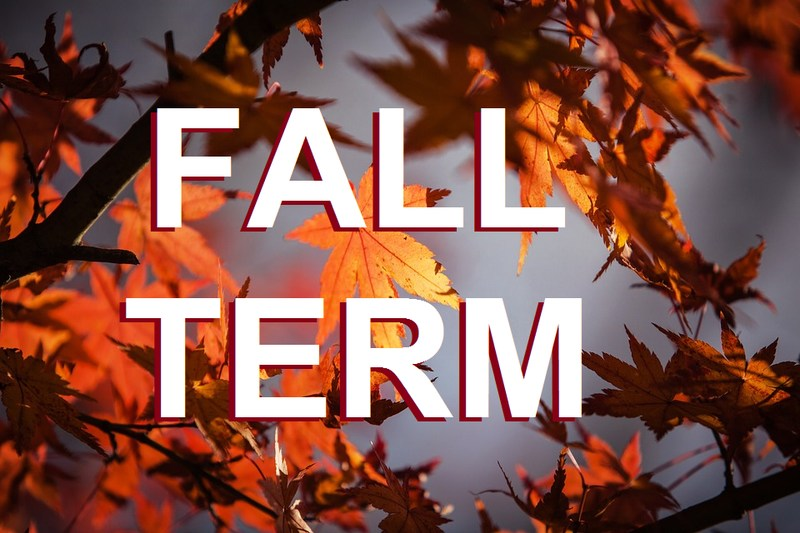 Fall Term August 21 - November 17, 2017 Featured Photo
