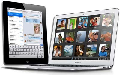 MacBook or iPad