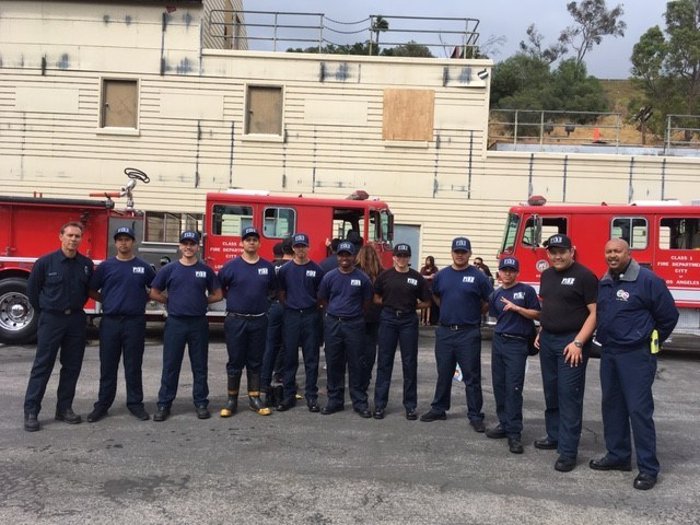CalAPS Firefighting Students Graduate In LA Metro Fire Ceremony Thumbnail Image