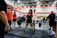 MHS student Jayla Quichocho at power lifiting competition