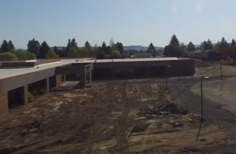 Drone footage of the changes being made at Shiloh Hills Project site.