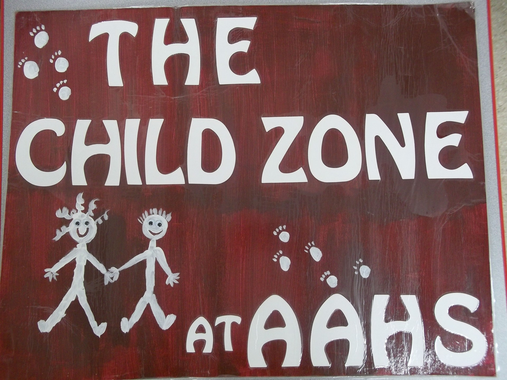Child zone logo