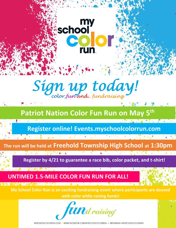 Freehold Township High School Color Run Thumbnail Image