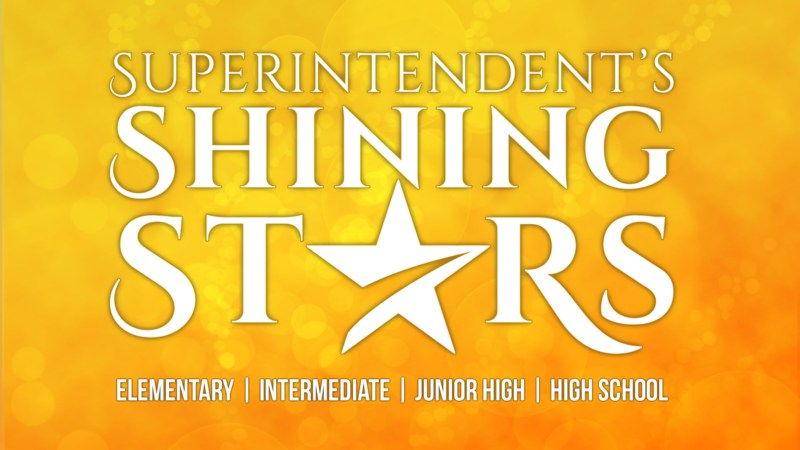 Superintendent's Shining Stars