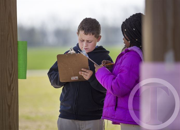 Outdoor Learning Engages Students at G.W. Bulluck Elementary School Thumbnail Image
