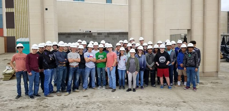 BHS Civil Engineering, Architecture PLTW and Geometry in Construction Students Visit Job Sites Thumbnail Image