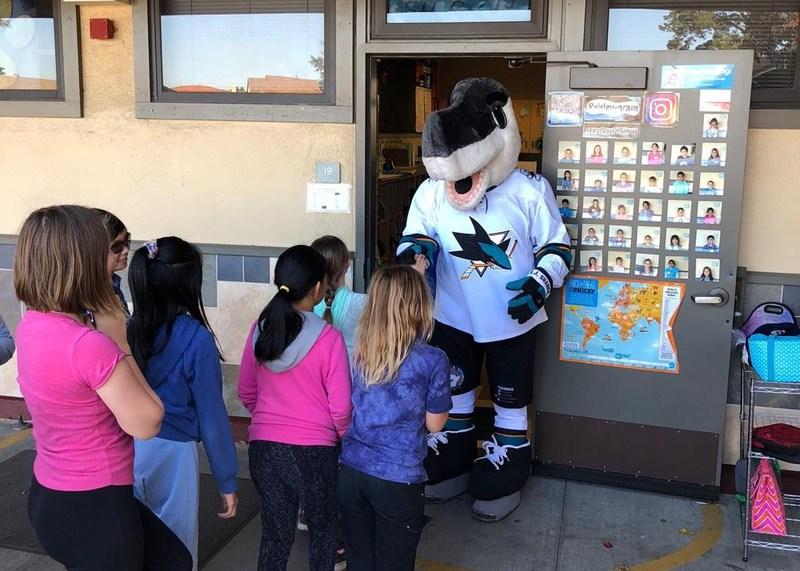 """Baker Classrooms Win San Jose Sharks' """"Top Classrooms of the Month"""" Thumbnail Image"""
