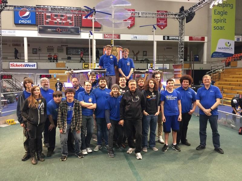 Robotics Club Advances to the World Championship in Houston Texas Thumbnail Image