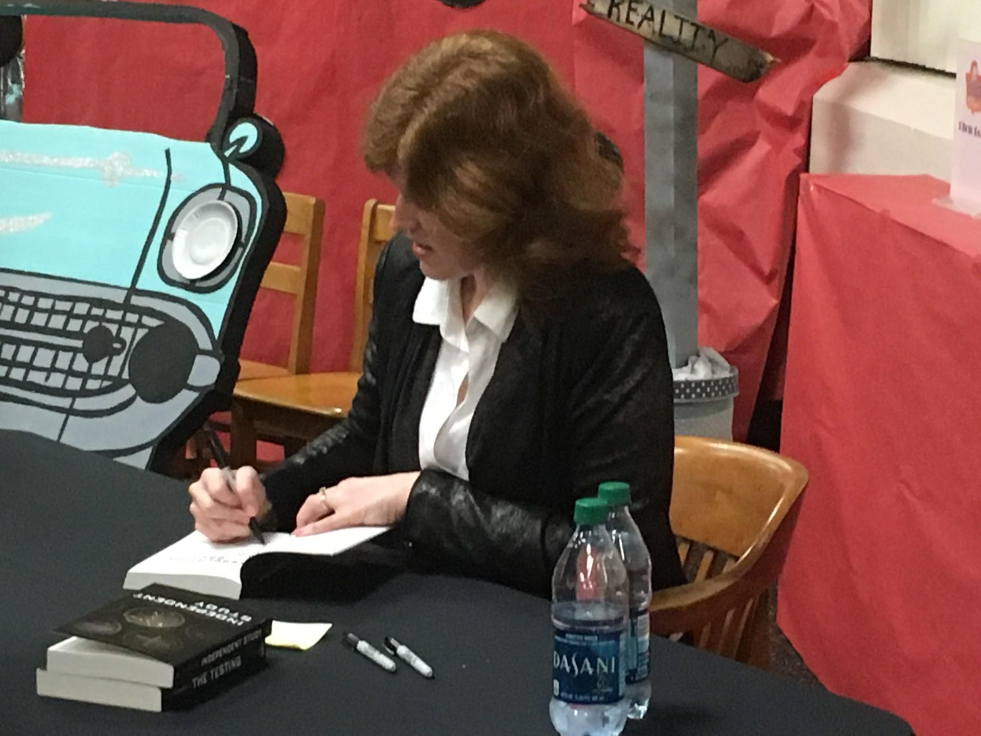 Author Joelle Charbonneau
