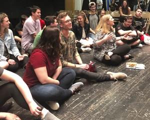 Wantagh High School cast performing