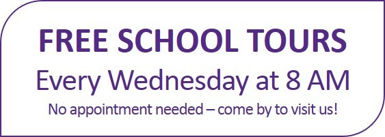 FREE school tours of Baxter High School every Wednesday at 8 am.  No appointment needed.