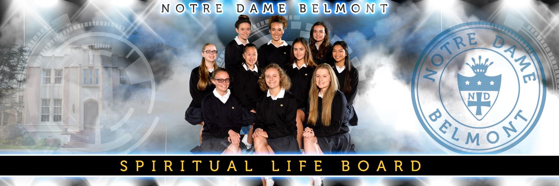 Spiritual Life Board