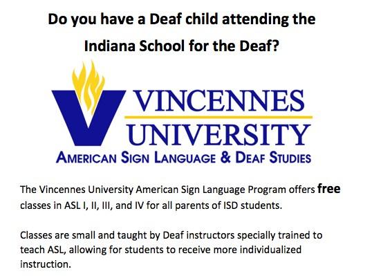 VU ASL Classes