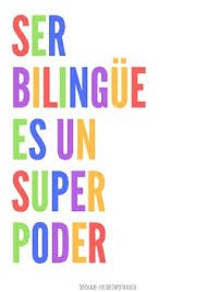 Being bilingual is my super power!