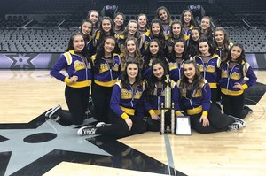 McHi Steppers at Alamodome