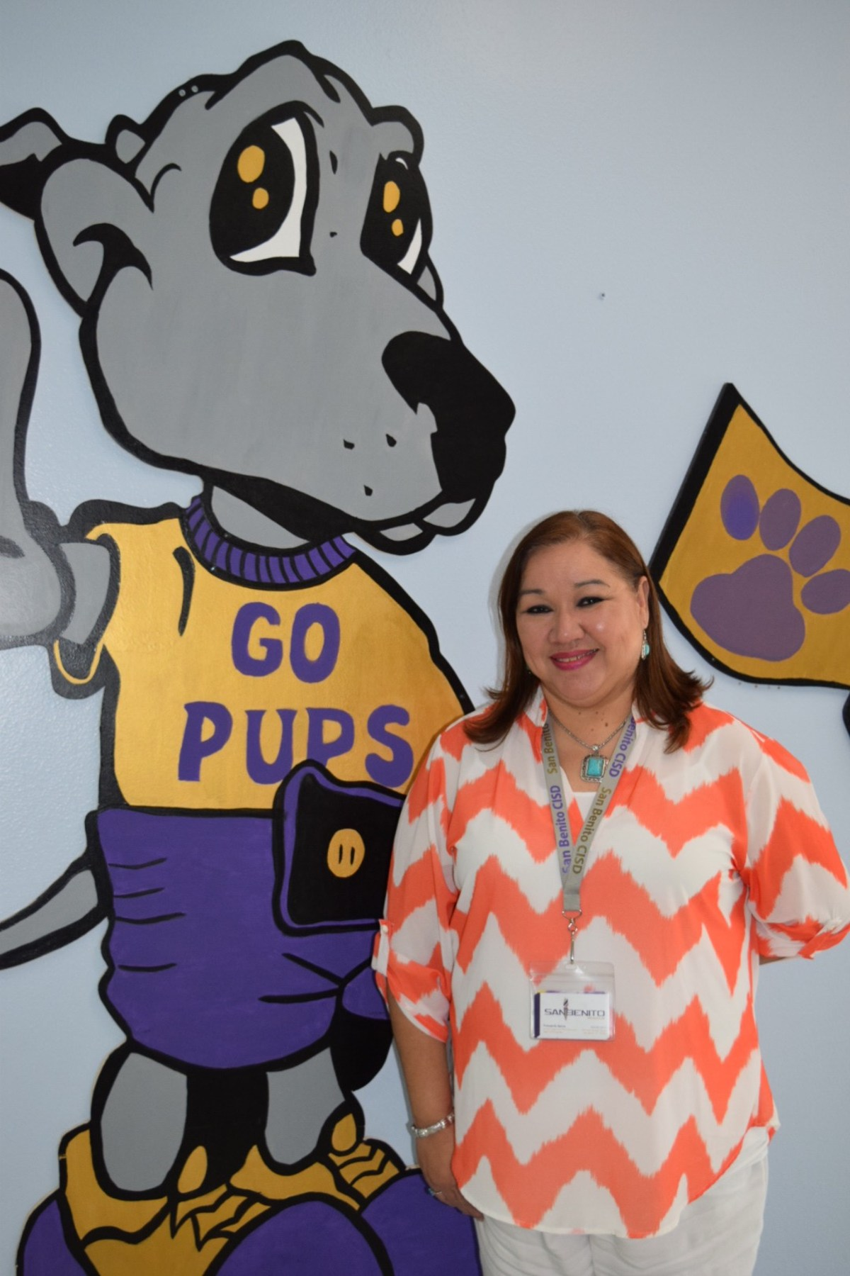Mrs. Frances Q. Garcia. Mrs. Garcia is the new Ed Downs Elementary Parent Specialist