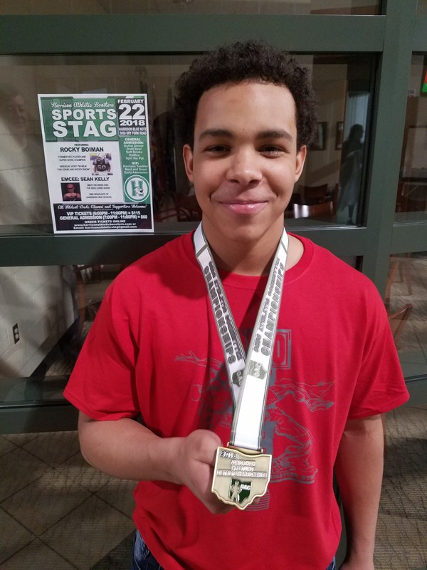 Mt. Healthy Junior High Wrestler Heading to State Featured Photo