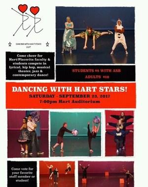 Dancing w Hart Stars Flyer