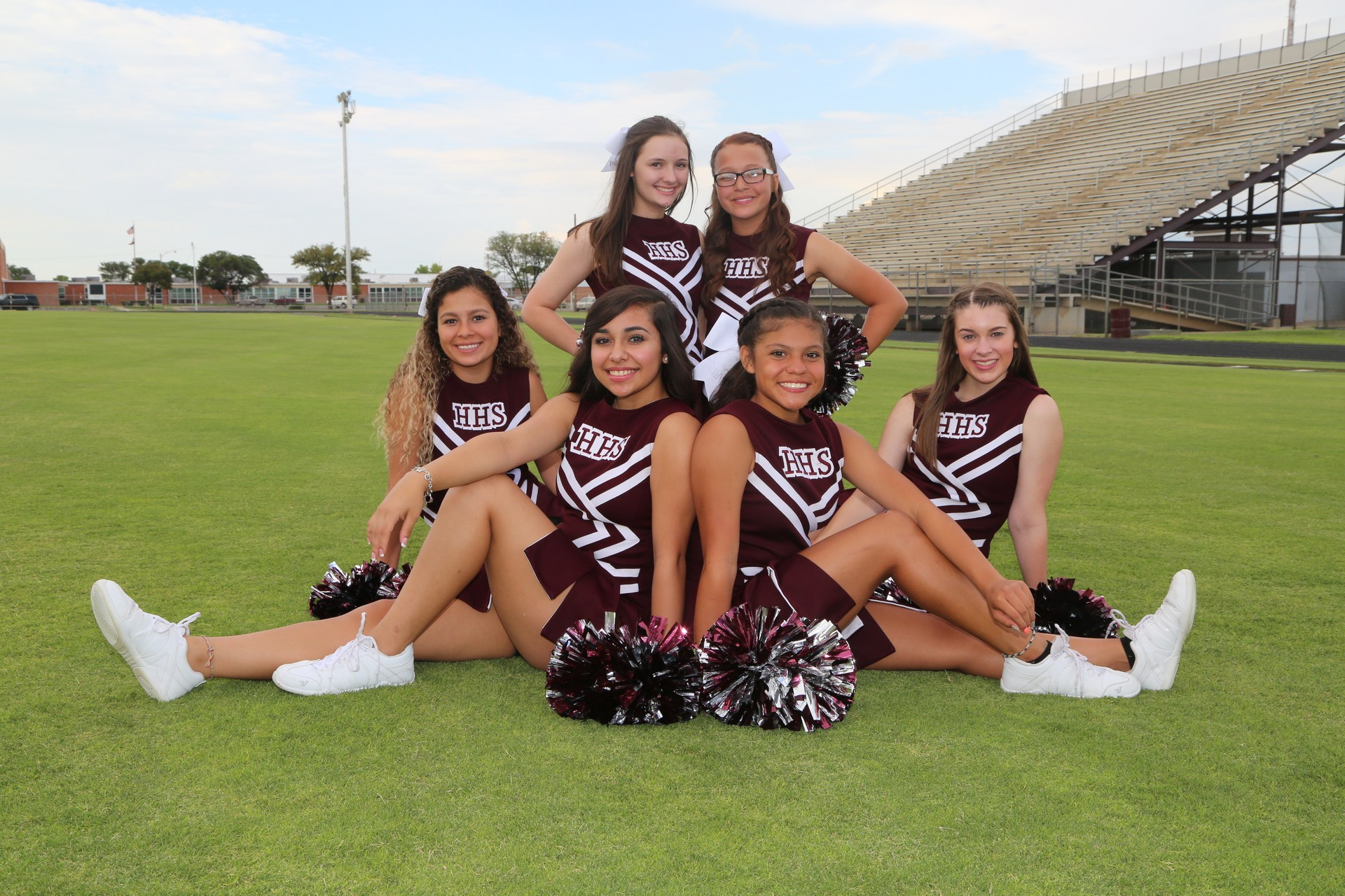 JV Cheerleaders 2017