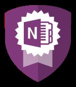Microsoft One Note Badge