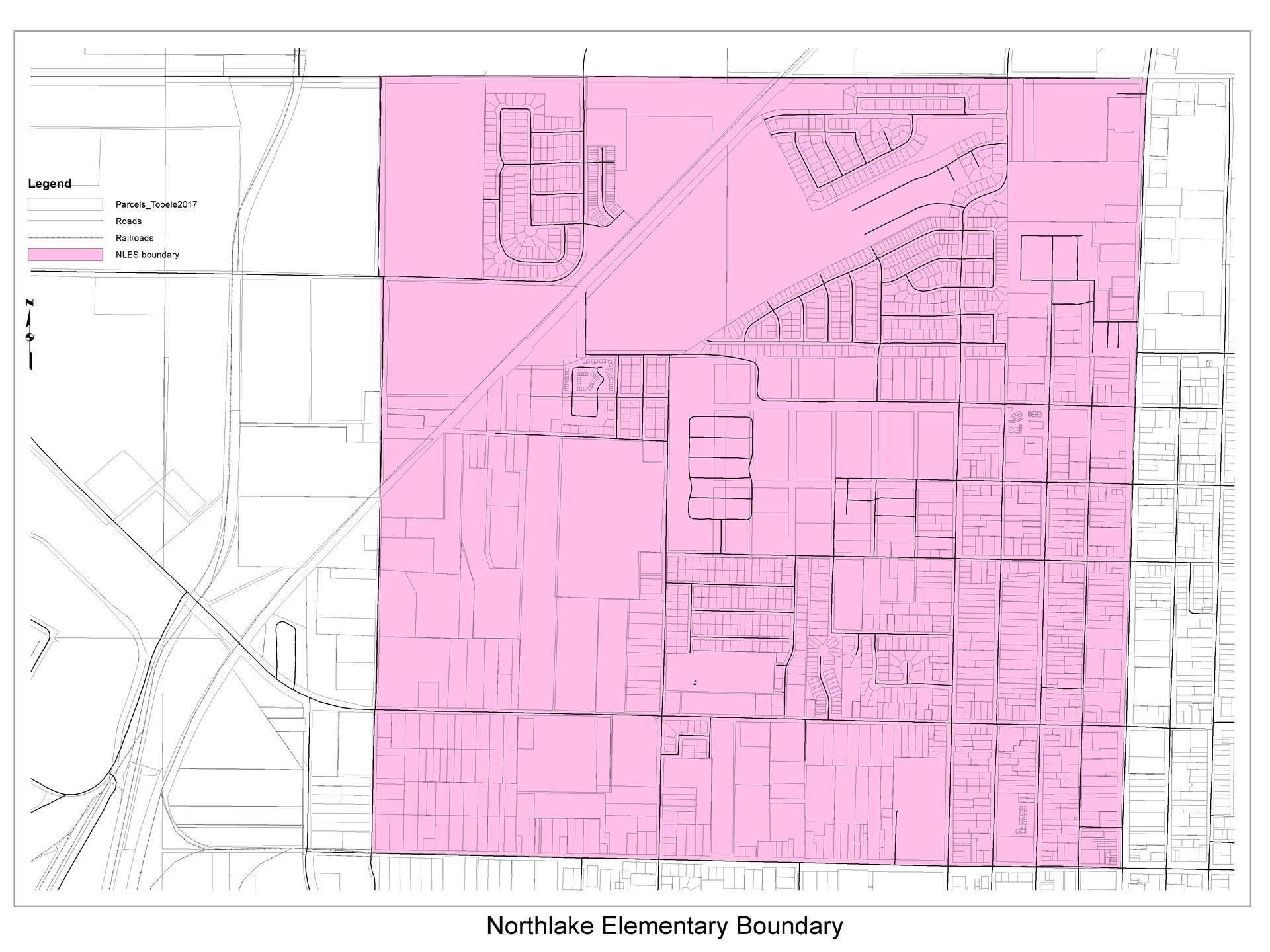 Northlake Elementary School boundary
