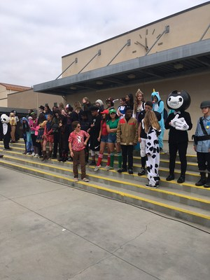 Rio's lunchtime Halloween costume contest!