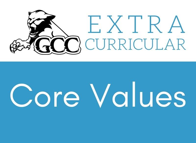 GCC Extracurricular Core Values
