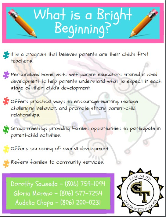 Bright Beginnings is now enrolling students! Thumbnail Image