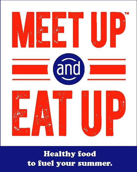 Meet Up & Eat Up Logo