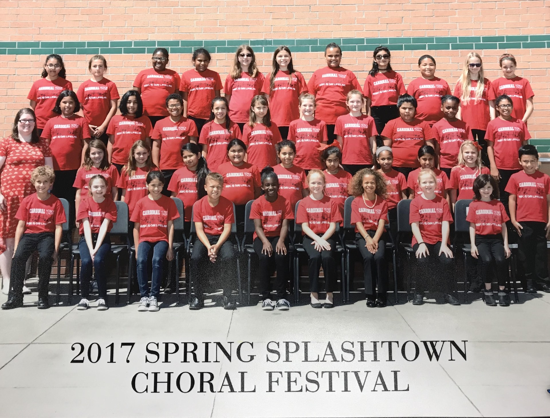 2016-2017 Honor Choir